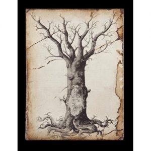 Sid Dickens Memory Blocks  T-125 Medieval-Tree-of-Life