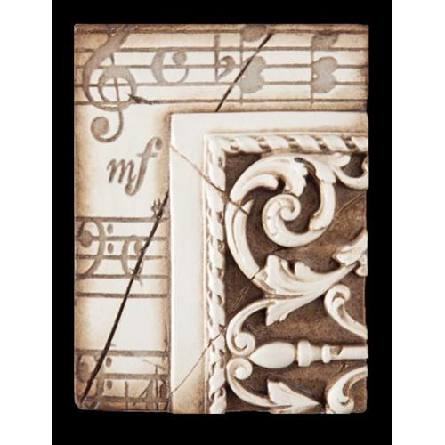 Sid Dickens Memory Blocks  T-04 Music With Moulding Collection: 1998 Collection