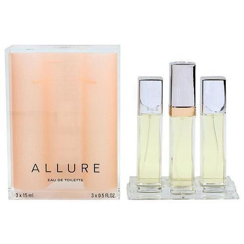 Allure By Chanel For Women Da Donna EDT 3x15ml