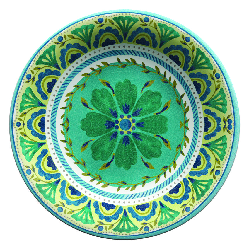 "Serafino Zani – Insalatiera LONDON SERVING BOWL "" TOUCH-MEL "" 35 X 35 X 7 CM   TLO3INS/35"