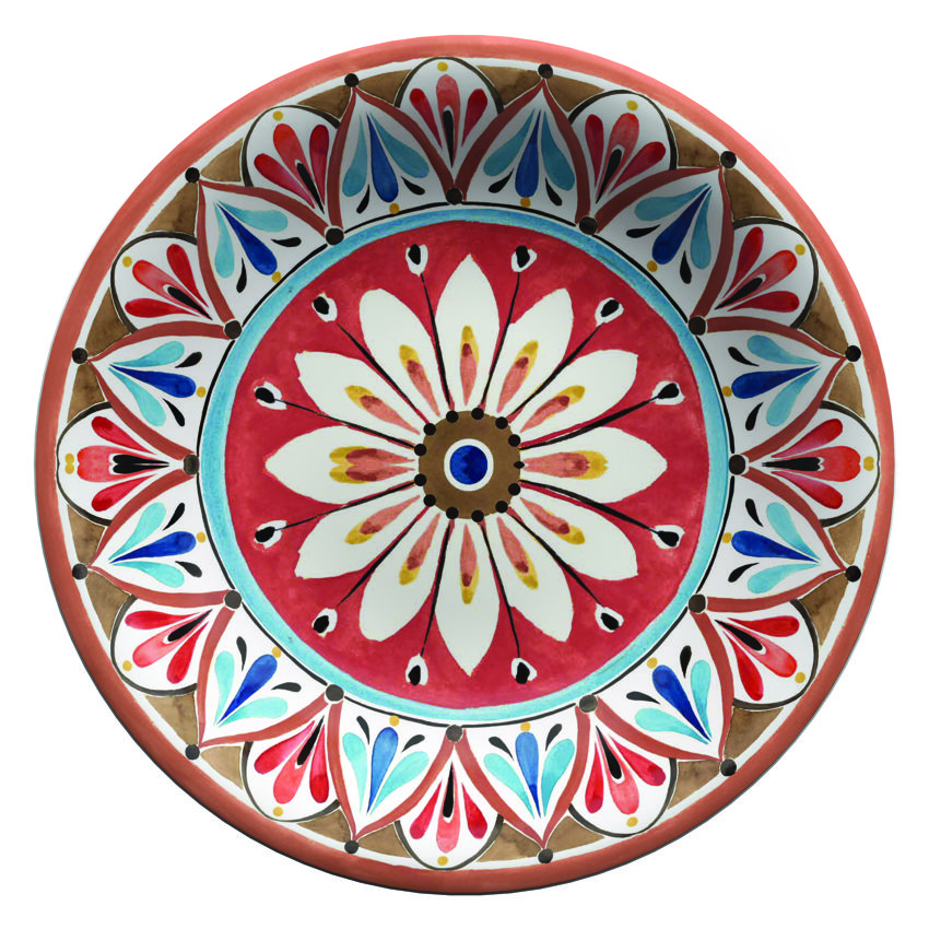 "Serafino Zani – Insalatiera MADRID SERVING BOWL "" TOUCH-MEL "" 35 X 35 X 7 CM   TMA3INS/35"