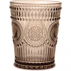 BACI MILANO Set 6 Bicchieri Acqua Arabesque Neo Barocco Wood