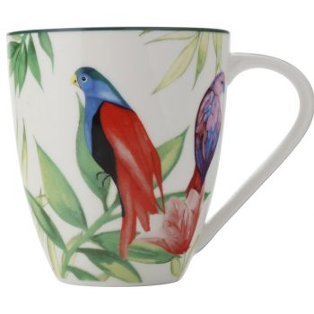 CHRISTOPHER VINE TROPICAL NIGHTS MUG TROPICAL NIGHTS 500 ML WHITE AW0233