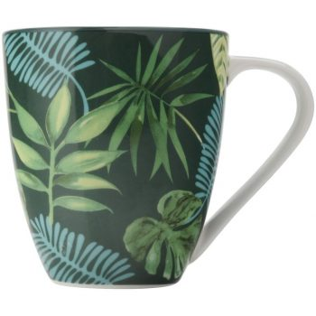 CHRISTOPHER VINE TROPICAL NIGHTS MUG TROPICAL NIGHTS 500 ML GREEN AW0234