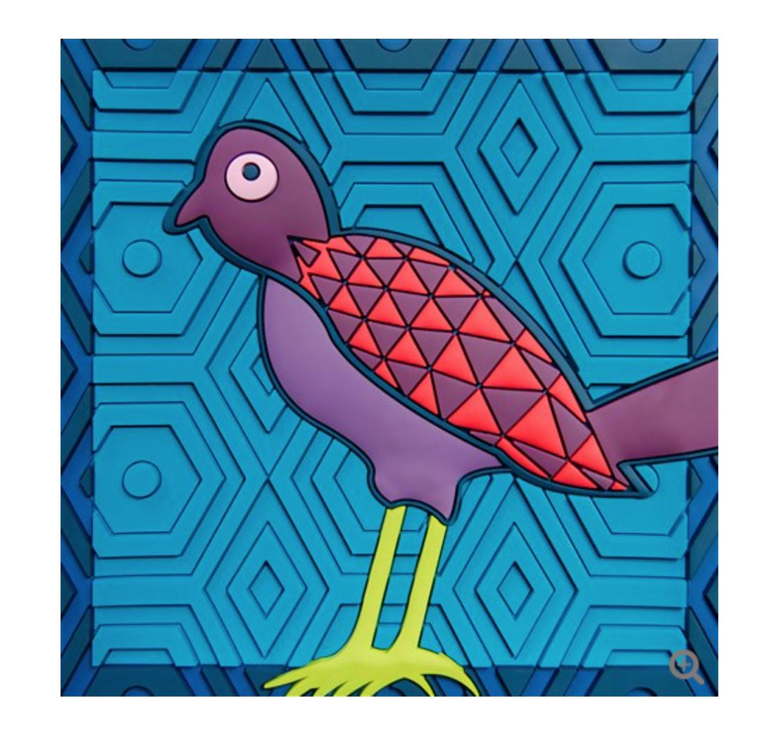 Svuota Tasche   Birds Of Paradise Blue   Images D'Orient