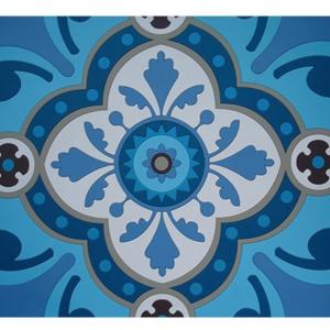 Tovagliette Set 2 Pezzi | Sejjadeh Azur | Images D'Orient