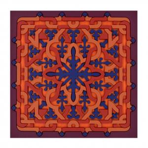Set 2 Sottobicchieri   Vagabonde Crochet Velours   Images D'Orient