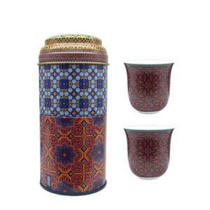 Set 2 Bicchieri Caffè Porcellana | Vagabonde | Images D'Orient
