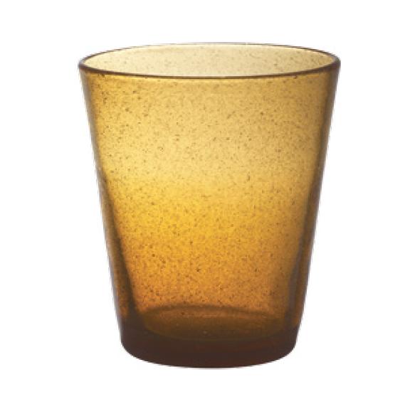 Set 6 Bicchieri Vetro | Amber | Freshness
