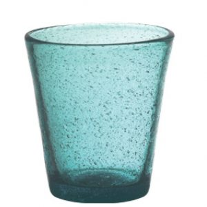 Set 6 Bicchieri Vetro | Turquoise | Freshness