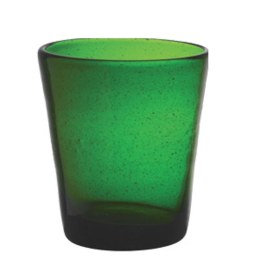 Set 6 Bicchieri Vetro | Dark Green | Freshness
