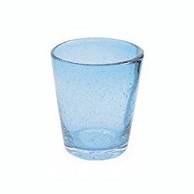 Set 6 Bicchieri Vetro | Blu Chiaro | Freshness