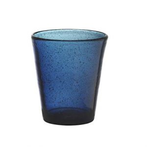 Set 6 Bicchieri Vetro | Blu Scuro | Freshness