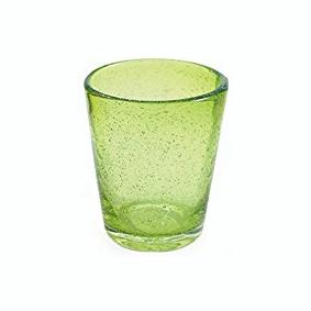 Set 6 Bicchieri Vetro | Verde | Freshness